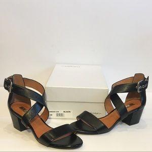 Halogen RENA Ankle Crisscross Strap Sandal…